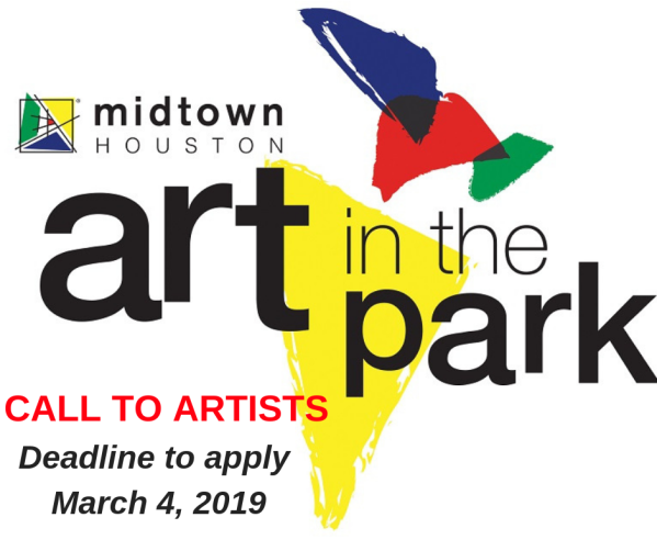 art in the park call to artists